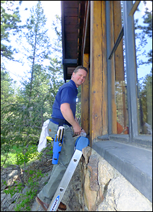 PEAK WINDOW CLEANING is based in Evergreen and serves the foothills and mountain communities.